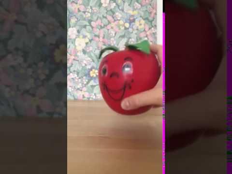 Pomme happy Apple Fisher Price vintage