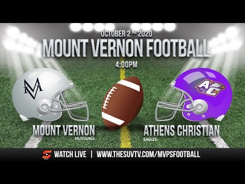 Mount Vernon Presbyterian School Football vs. Athens Christian Academy