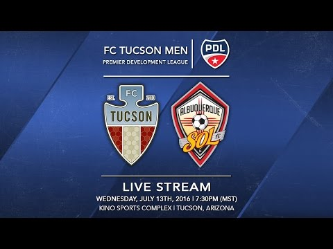 FC Tucson vs. Albuquerque Sol FC | July 13, 2016