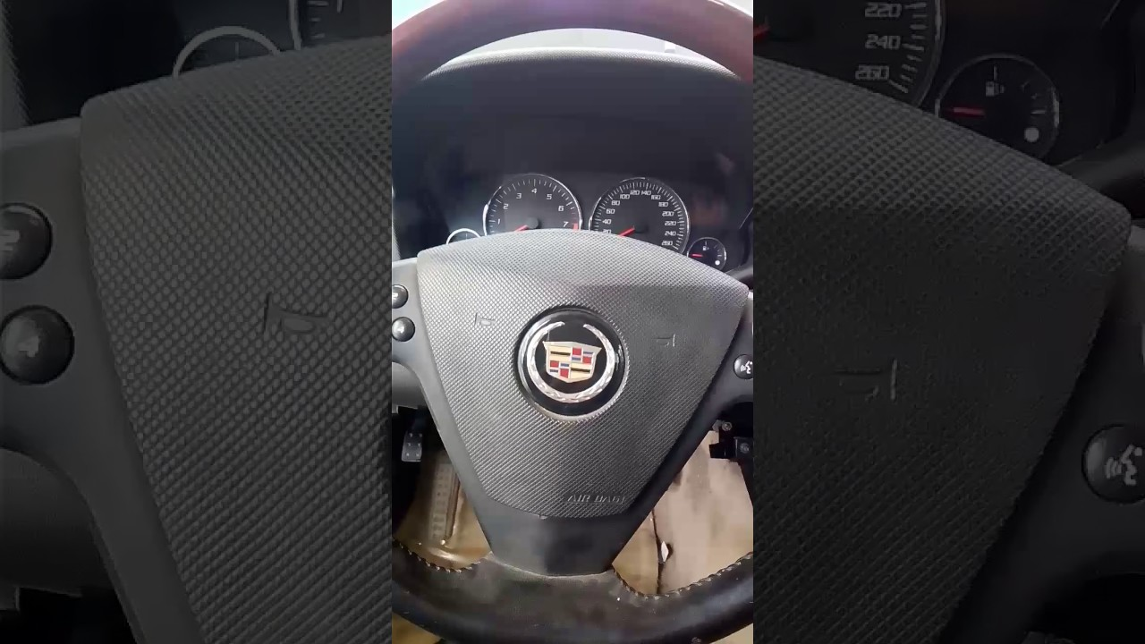 How to remove ke booster Cadillac CTS 2005 - YouTube