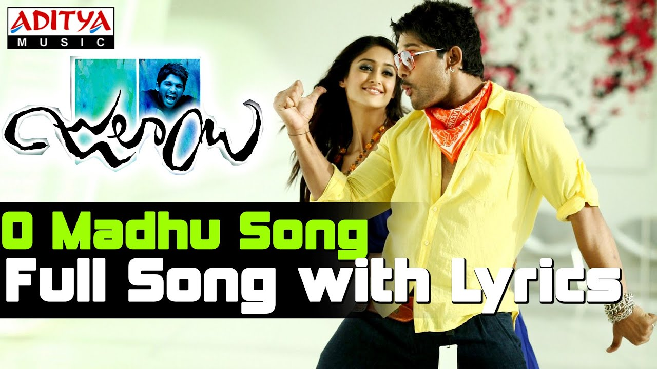 O Madhu Full Songs With Lyrics Julayi Movie Songs Allu Arjun Ileana
