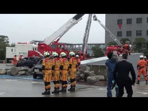 東京国際消防防災展2013 震災救助演習  (Tokyo International Fire and Safety Exhibition 2013)