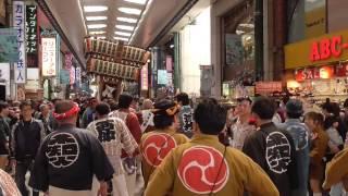 2017年 川崎アジアンフェスタ神輿ぱれーど(銀柳街)
