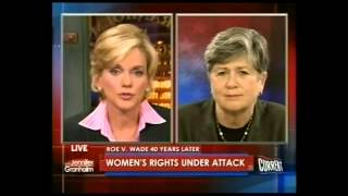 Nancy Keenan Speaks with Jennifer Granholm about 40th Anniversary of Roe v. Wade