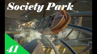 Planet Coaster | Society Park Part 41 | Splashes and Bridges