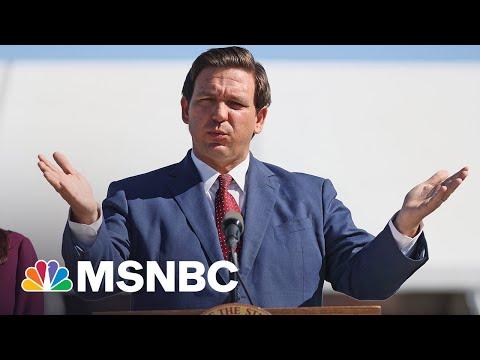 Former GOP Congressman Speaks Out On DeSantis' Rejection Of Mask Mandates