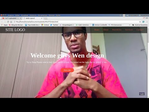 Primeira Web Page HTML5 CSS3 Create jobs 05