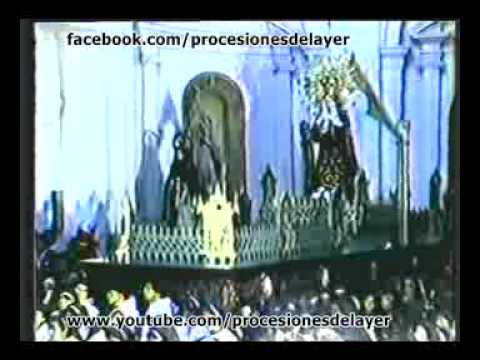 1985 Semana Santa Guatemala Viernes Santo Señor Sepultado Templo de la Recoleccion