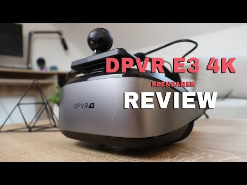 DPVR E3 4K Virtual Reality Headset Review - KeenGamer