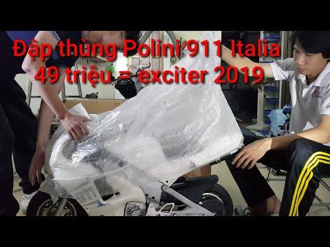 49 triệu cho Exciter 150cc 2019 chỉ đủ đập thùng được siêu xe MiniGP40 Polini911 này thôi.Kỹ Sư Hẻm