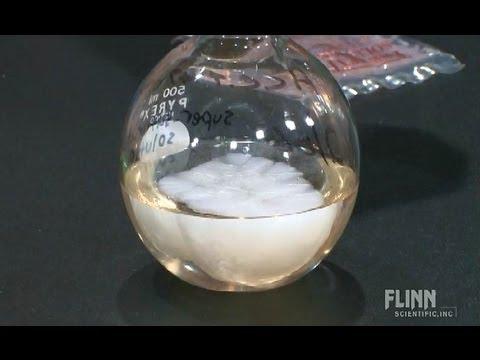 Supersaturated Sodium Acetate Solution