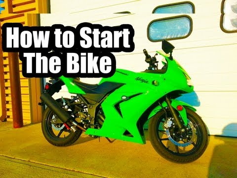 How to Start a Motorbike - Ninja 250 Newbs