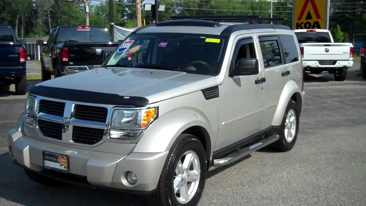 2008 Dodge Nitro SXT stk# 8505 Southern Maine Motors Saco Maine 04072