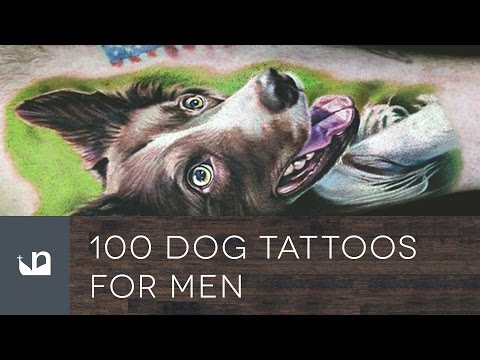 100 Dog Tattoos For Men