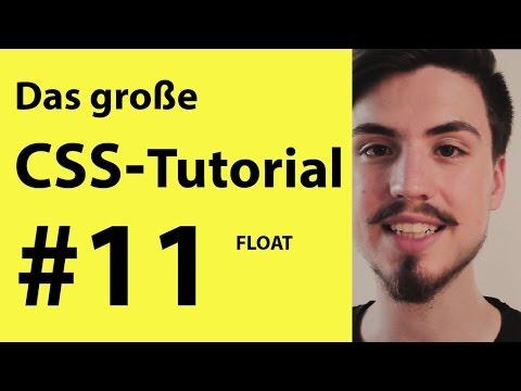 Float - Positionieren/ Ausrichten In CSS Tutorial | CSS Lernen Für Anfänger Deutsch