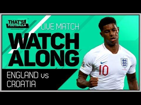 England vs Croatia LIVE Stream Watchalong