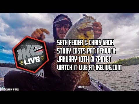 b119c5edf4740 Ike Live Bass Fishing Talk Show - January 10th 2019