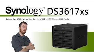 The Synology DS3617xs 12-Bay Desktop Enterprise Desktop NAS Walkthrough and Talkthrough