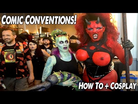 Ep94: How to Con! Tips and Tricks @ Indiana comic con + Monsterpalooza 2015