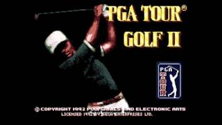 PGA Tour Golf II  Title Music (Sega MegaDrive)