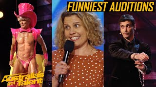 The FUNNIEST AUDITIONS of AGT 2019 | LOL Auditions | Australia