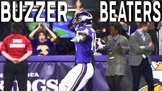Top Buzzer Beater Touchdowns in NFL History!