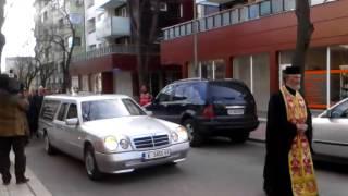 Катафалка, погребение Димчо Михалевски