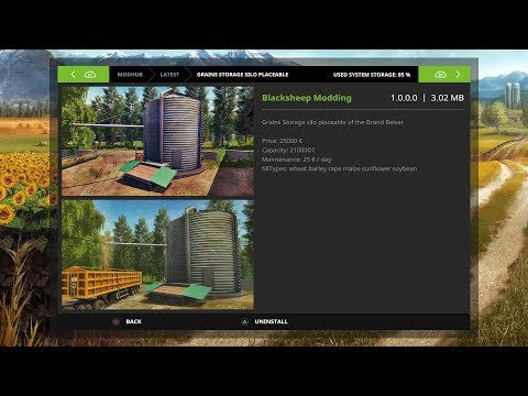 FS17: Mod Spotlight - Beiser Grains Storage Silo