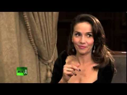 Natalia Oreiro in Russia 2013 interview RT