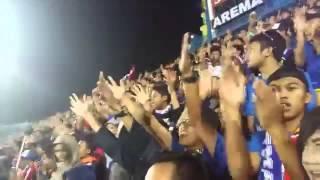 Aremania Janji Sumpah Setia Arema Di Stadion Kanjuruhan Malang