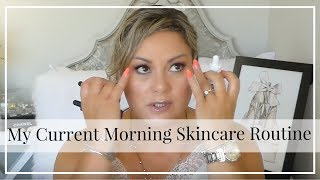My Current Morning Skincare Routine - mature skin