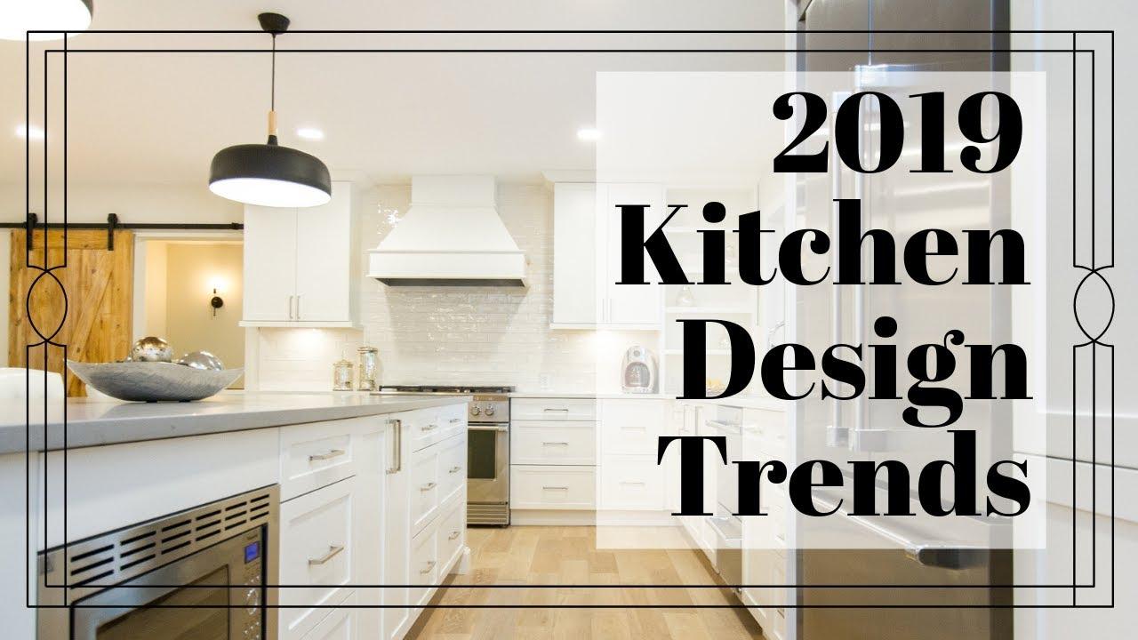 Kitchen Trends 2019 Kitchen Cabinets Kitchen Design Luxury Homes Youtube