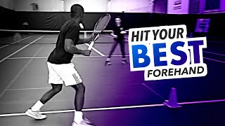 How to hit the BEST forehand possible