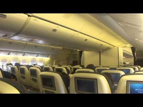 Inside British Airways Boeing 777-300ER