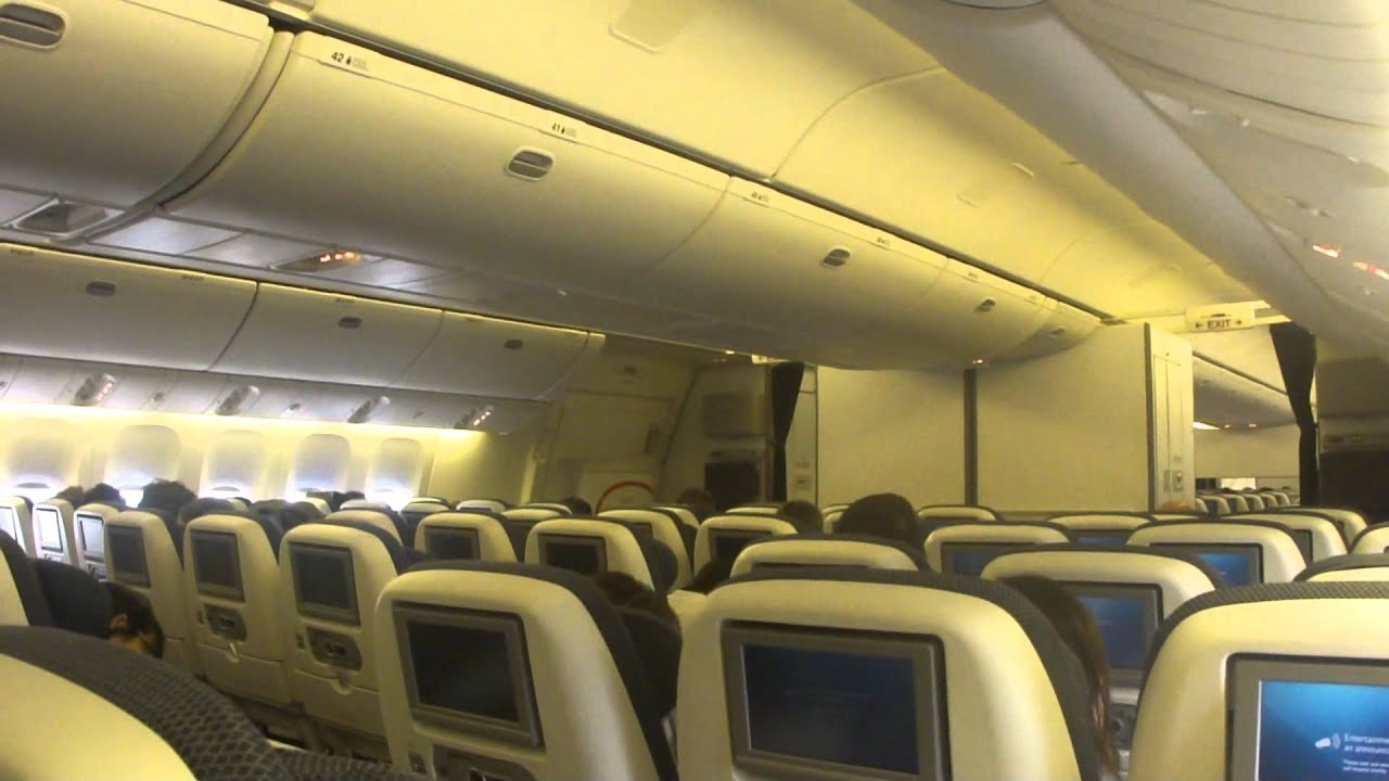 Inside british airways boeing 777 300er youtube for Interieur 777 300