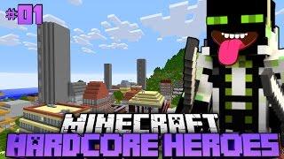 KAMPF um LEBEN und BROT?! - Minecraft Hardcore Heroes 2 - #01 [Deutsch/HD]