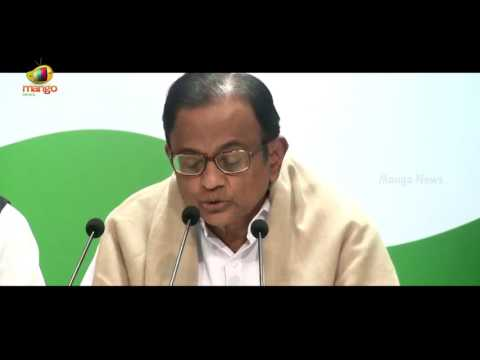 P Chidambaram Criticises FM Arun Jaitley's 4th Union Budget 2017 | Mango News