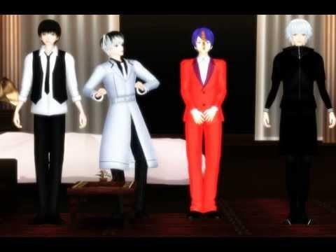 【MMD x Tokyo Ghoul】Minions Banana Song 【Kaneki, Haise & Tsukiyama】