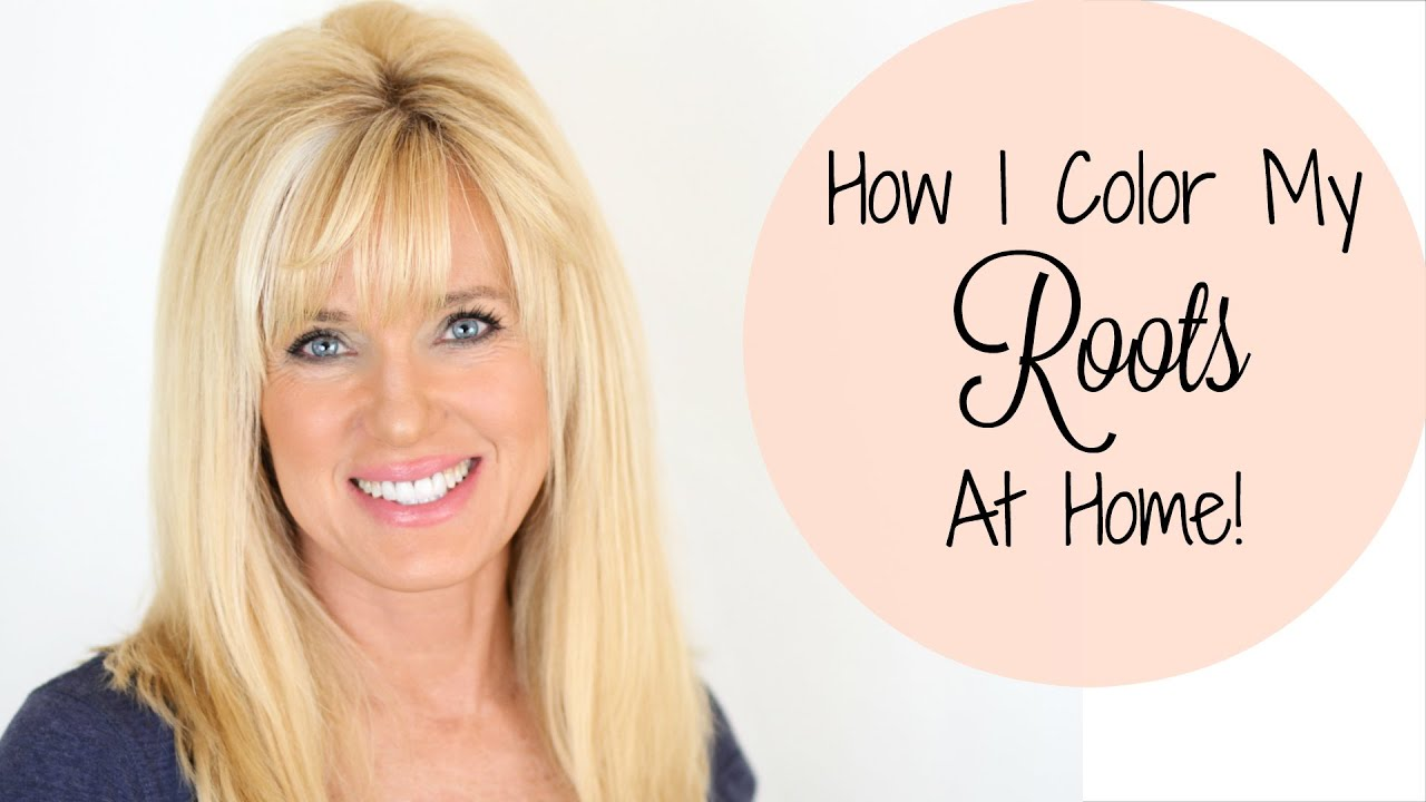 How I Color My Hair At Home! Blonde Hair At Home!