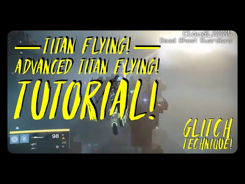 Destiny 2 NEW SUPER GLITCH Infinite Flying Method Faster Then Titan