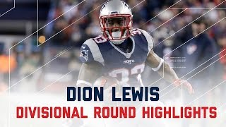 Dion Lewis' Record Breaking 3 TD Game! | Texans vs. Patriots | NFL Divisional Player Highlights