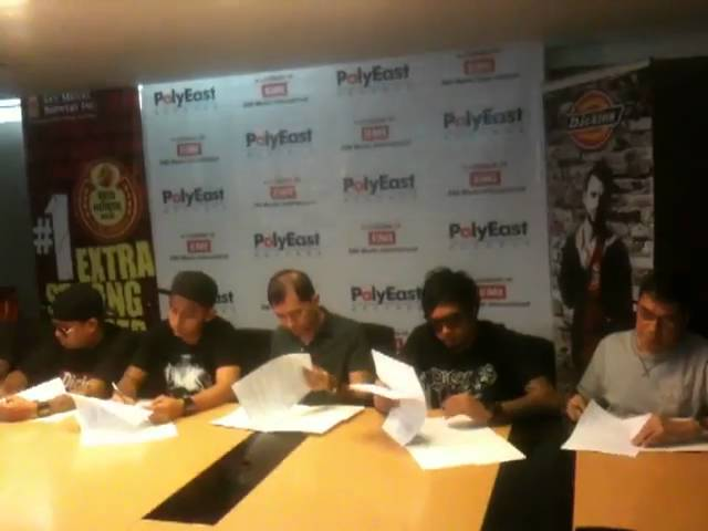 Slapshock Album Contract Signing Travel Video