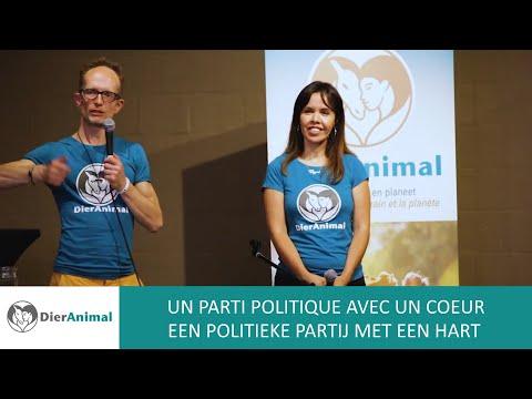 Un parti politique avec un coeur / Een politieke partij met een hart