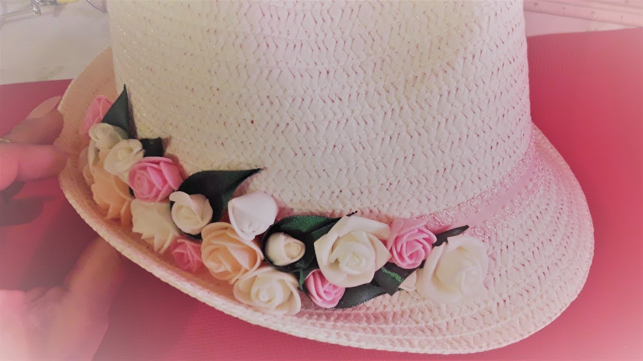 Украшение для шляпки своими руками фото 875