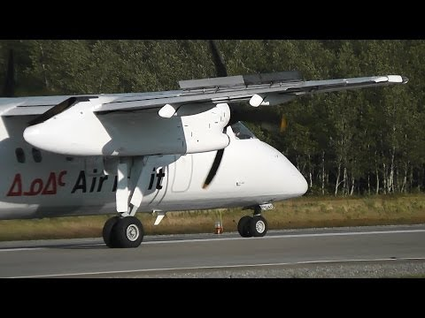 Air Inuit | Dash 8-100 | Overhead Landing - Take Off | C-FDAO | Val-d'Or (CYVO)