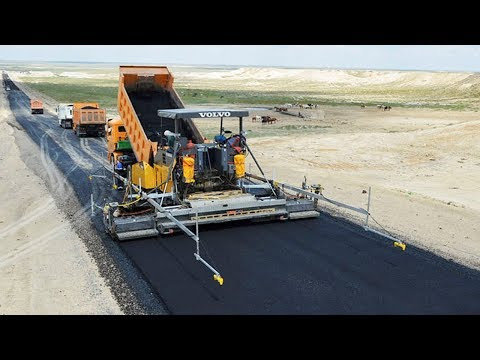 World Amazing Modern Road Construction Equipment - Mega Machines Technology