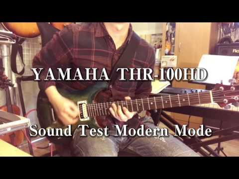 YAMAHA THR 100HD Sound Test Modern Channel ヤマハ アンプ試奏動画 モダンチャンネル 杉山つよし