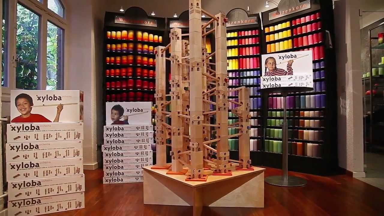 Xyloba, the marble run that makes music