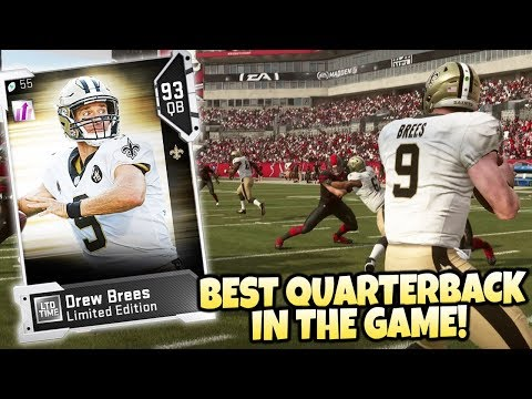 DREW BREES IS TOO GOOD!! RECORD BREAKING PERFORMANCE! Madden 19 Ultimate Team