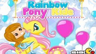 My Little Pony - Rainbow Pony Ride - My Little Pony Girl Game